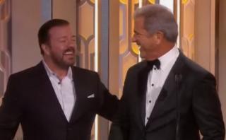 Globos de Oro: Ricky Gervais vs. Mel Gibson, otra vez