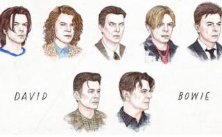 Fanáticos lloran a David Bowie con GIF sobre su vida