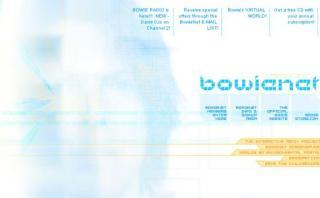David Bowie lanzó en los 90 su propio proveedor de Internet
