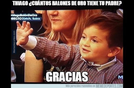 Los mejores memes de la ceremonia del Balón de Oro 2015