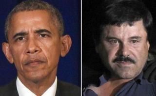 ¿Qué dijo Barack Obama sobre la recaptura de El Chapo Guzmán?