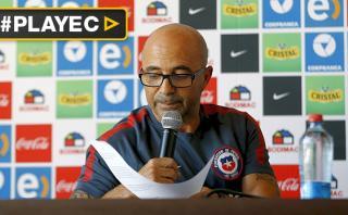 Jorge Sampaoli no dio señales de renunciar a selección chilena
