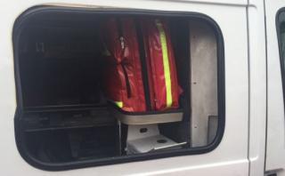 Breña: roban desfibrilador de ambulancia de los bomberos