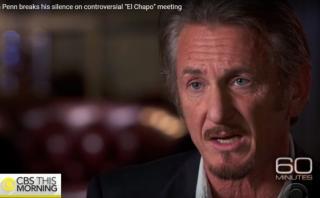 Sean Penn rompe su silencio sobre encuentro con 'Chapo' Guzmán