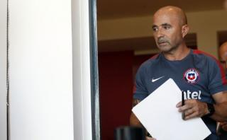 Sampaoli y selección chilena no alcanzaron acuerdo de rescisión