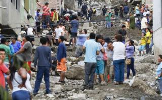 El Niño: realizan censo de familias en riesgo en Chosica