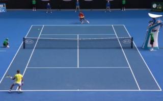 Nadal perdió pero se fue aplaudido por esta fabulosa jugada