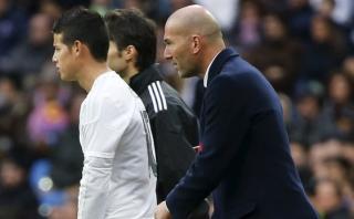 El desplante de James Rodríguez a Zinedine Zidane [VIDEO]