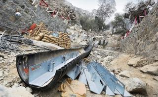 Chosicanos de zonas de alto riesgo rechazan ser reubicados