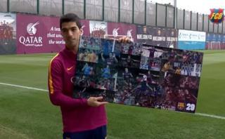 Luis Suárez está de cumpleaños y eligió así sus mejores goles