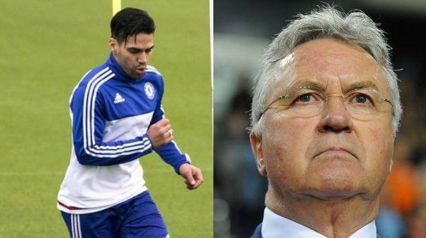 Radamel Falcao desmiente al técnico del Chelsea sobre su lesión