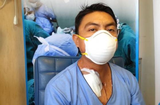 Milagro de donación: Diseñador vive con corazón y riñón ajenos
