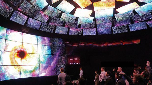 LG transmitirá imágenes de la NASA en calidad 4K