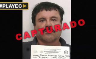 México divulga video de fuga y arresto de 'El Chapo' [VIDEO]