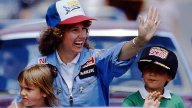 Christa McAuliffe, la profesora que falleció en el Challenger