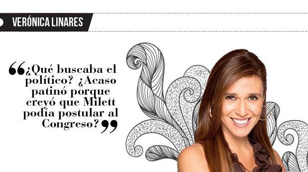 Verónica Linares: La modelo y el ex presidente