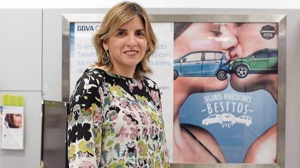 """Los """"besos"""" que lanza el BBVA a los seguros de automóviles"""