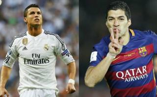 Cristiano igualó a Luis Suárez en la tabla de goleadores