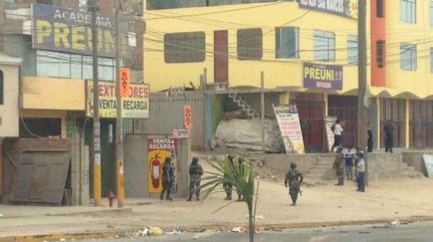 Manchay: posta colapsó por cantidad de heridos tras protestas