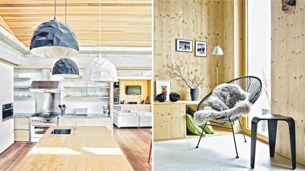 Madera clara: el complemento perfecto para un espacio moderno