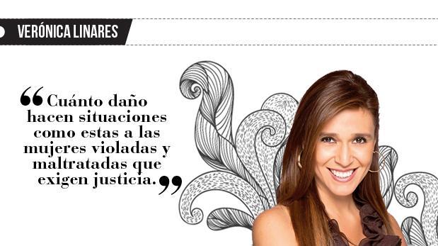 """Verónica Linares: """"Falsas denuncias"""""""