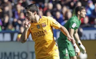 Barcelona: Luis Suárez marcó tras perfecto contragolpe [VIDEO]