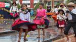 Día del Huaylarsh: danzantes bailaron pese a intensa lluvia - Noticias de folclorista