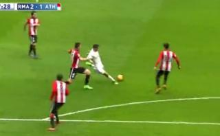 James Rodríguez amagó a rival y marcó este golazo [VIDEO]