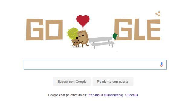 Google celebra San Valentín con estos tres tiernos doodles