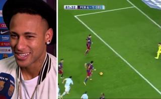 Barcelona: ¿Luis Suárez le 'robó' el increíble penal a Neymar?
