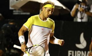 Rafael Nadal debutó con victoria en el Abierto de Río