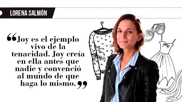 """Lorena Salmón: """"Retroceder nunca, rendirse jamás"""""""