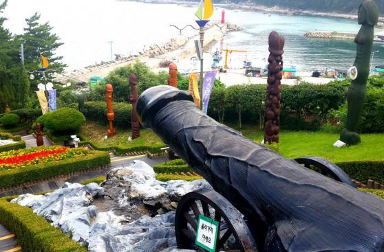Haesindang, el mítico parque coreano con esculturas sexuales