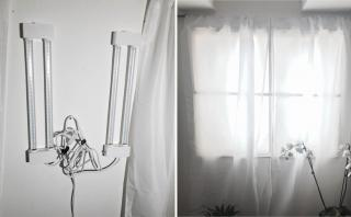 Crea una ventana falsa para iluminar tu espacio usando luz LED