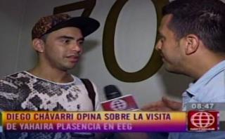 """""""Esto es guerra"""": Diego Chávarri califica de """"normal"""" a Yahaira"""