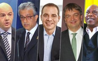 FIFA: los cinco candidatos que buscan suceder a Joseph Blatter