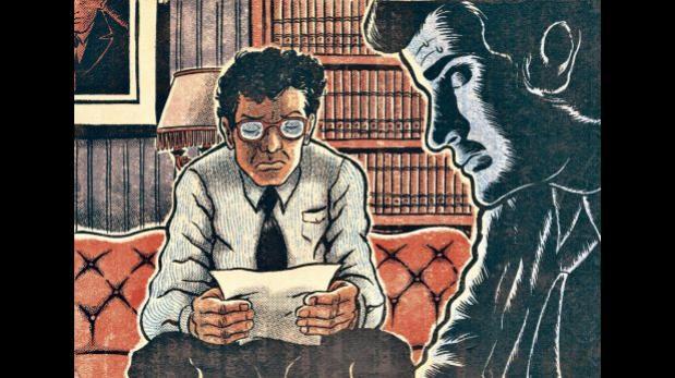 """El empresario y el abogado: fragmento de """"Cinco esquinas"""""""