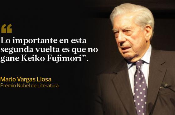 Mario Vargas Llosa y sus frases sobre los candidatos