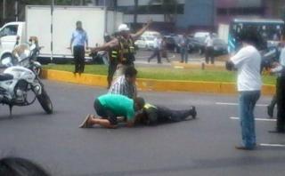 Mujer policía murió atropellada por chofer ebrio en Chosica