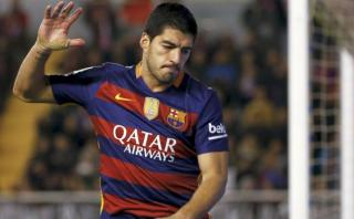 Barcelona: Luis Suárez pateó penal y volvió a fallar [VIDEO]