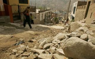 Chosica: familias aceptan dejar quebrada y mudarse a Comas