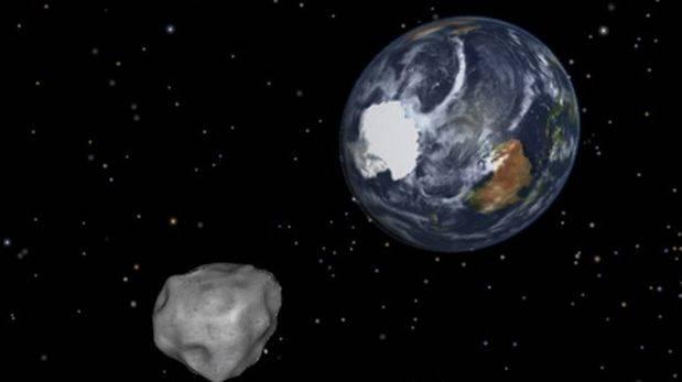 NASA descarta colisión de asteroide que se acerca a la Tierra