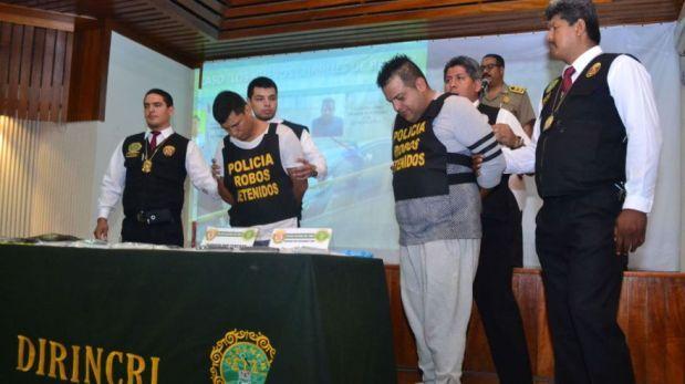 Vía Expresa: presentan a los presuntos asesinos de cambista