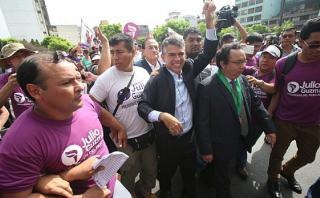Julio Guzmán: su partido presentará mañana apelación ante JNE