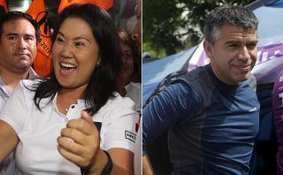 GFK: Keiko primera con 34,6% y Guzmán segundo con 16,6%