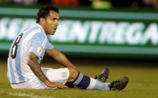 Selección argentina: Tevez no fue convocado para Eliminatorias