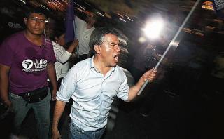 """Julio Guzmán: Adversarios utilizan """"técnica nazi"""" en mi contra"""