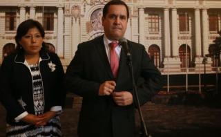 Luis Iberico descarta renunciar al partido de César Acuña