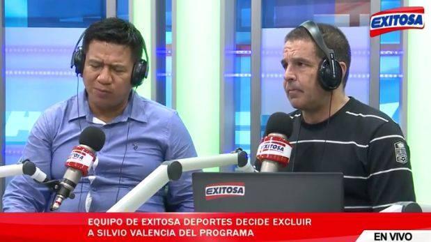 Gonzalo Núñez despidió en vivo a colega que discutió con Fano