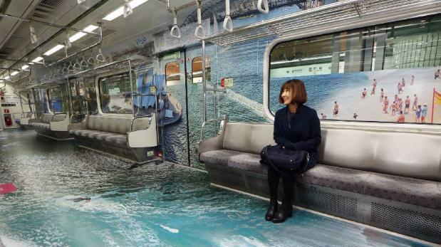 Disfruta de un viaje único por el mundo en el metro de Seúl